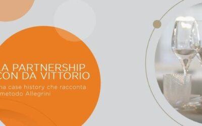 Allegrini's partnership with Da Vittorio